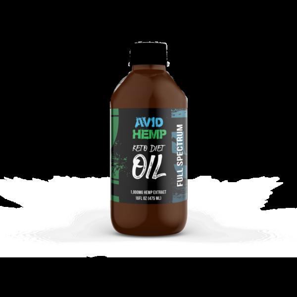 CBD Keto Diet Oil 1,000mg Avid Hemp Wholesale