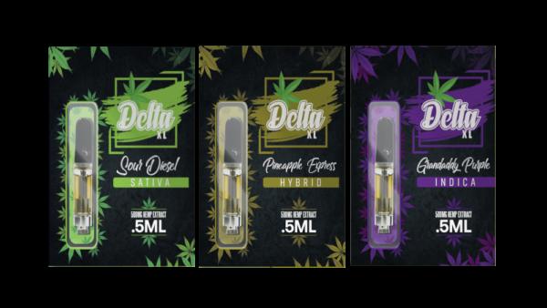 Delta 8 vape carts